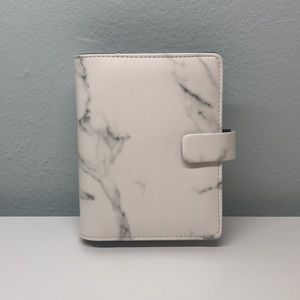 Filofax Pocket Planner in color Marble